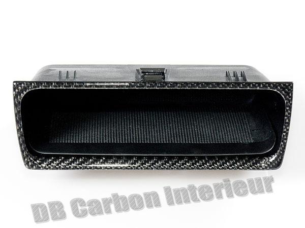 db carbon ablagefach unter radio klimaanlage unteres f r. Black Bedroom Furniture Sets. Home Design Ideas