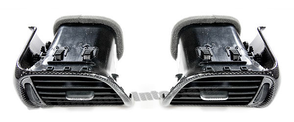 DB Carbon Side vents r+l for Porsche 997 2 turbo