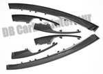 Front bumper side air grill strips r+l (4-piece)