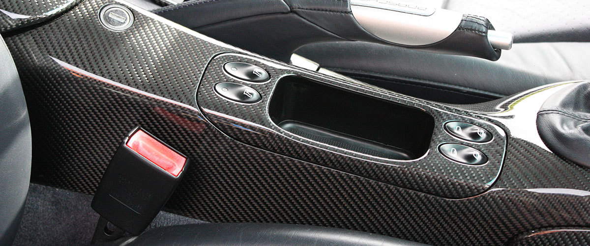 Porsche 986 996 carbon center console ashtray storage box real carbon interior trim carbon parts console shift knob handbrake