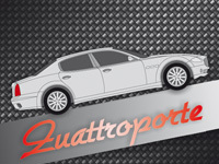 Maserati Quattroporte real carbon interior and exterior trim parts